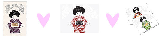 geisha prints and cards
