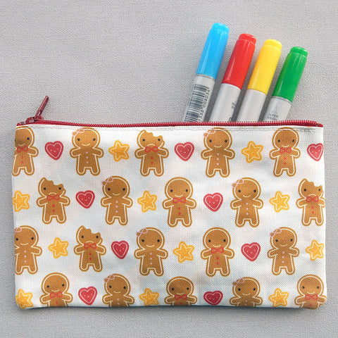 Cookie Cute Fabric Pencil Case