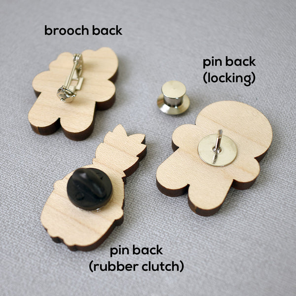 Cookie Cute Gingerbread Man Wooden Pins