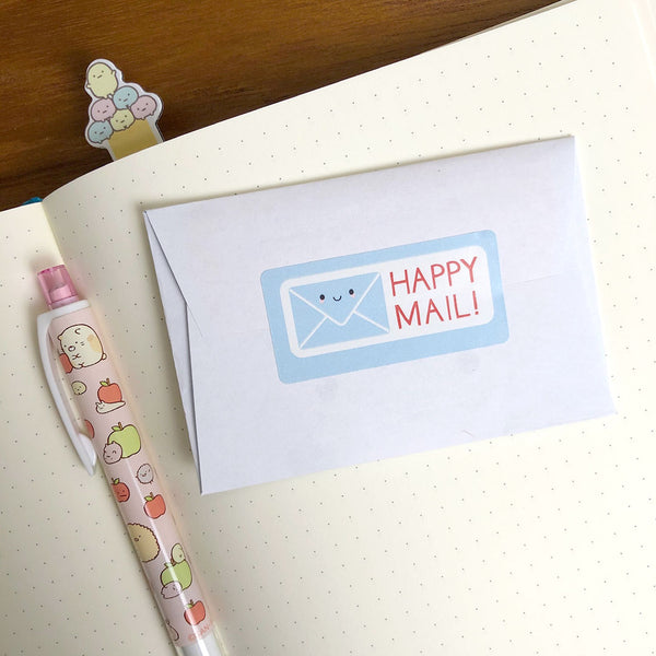 Happy Mail Kawaii Stickers