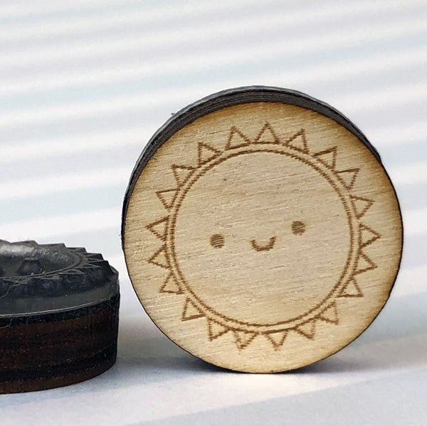 Sun, Planet & Earth Polymer Stamps