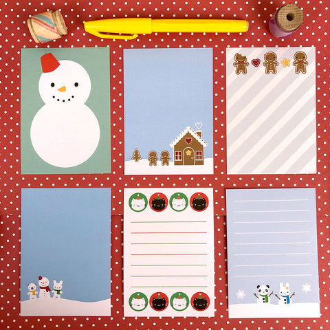 Pick & Mix Winter Mini Memo Sheets