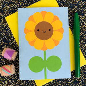 Happy Sunflower Card