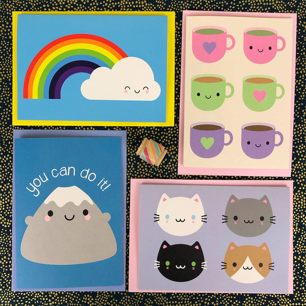 Pick and Mix Kawaii Cards