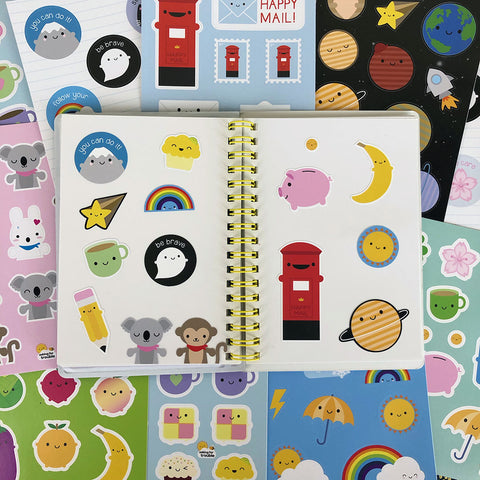 Pick & Mix Kawaii Sticker Sheets