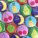 5 A Day Fruit & Vegetables Badge Sets