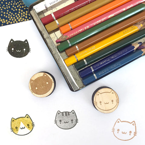 Kawaii Cats Polymer Stamps