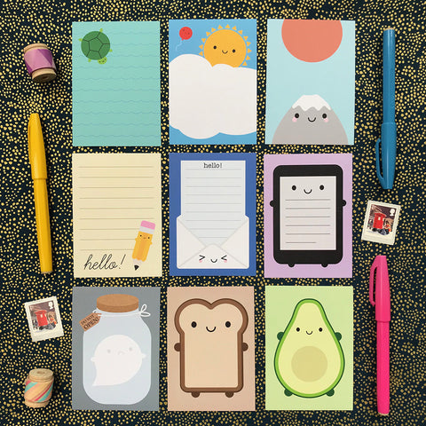 Pick & Mix Kawaii Mini Memo Sheets