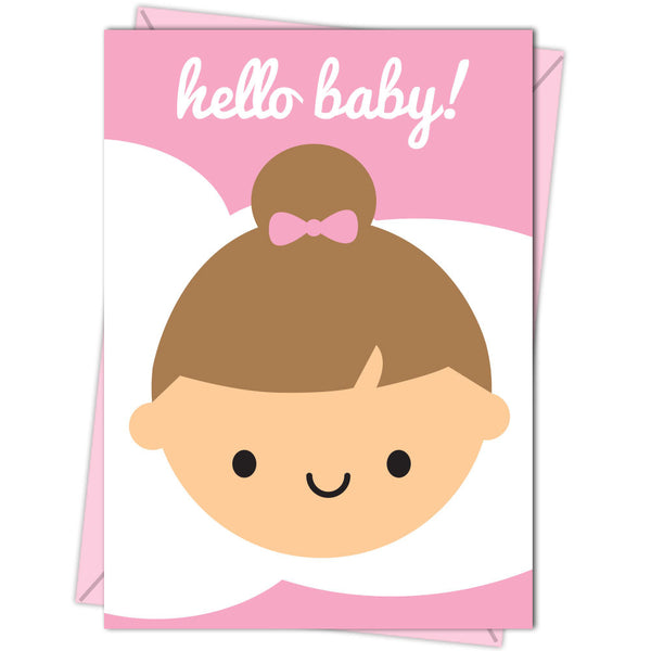 Hello Baby! New Baby Boy & Girl Cards
