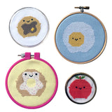Kawaii Breakfast Cross Stitch Patterns & Kits