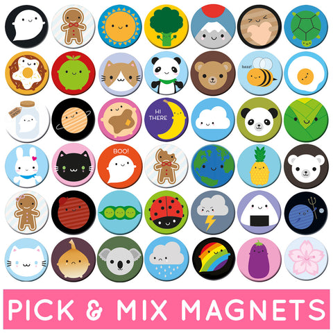 Pick & Mix Kawaii Fridge Magnets