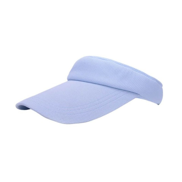 Attractive Women Visor Sun Plain Hat Sports Cap Colors Golf Tennis Beach Hat Adjustable Hot