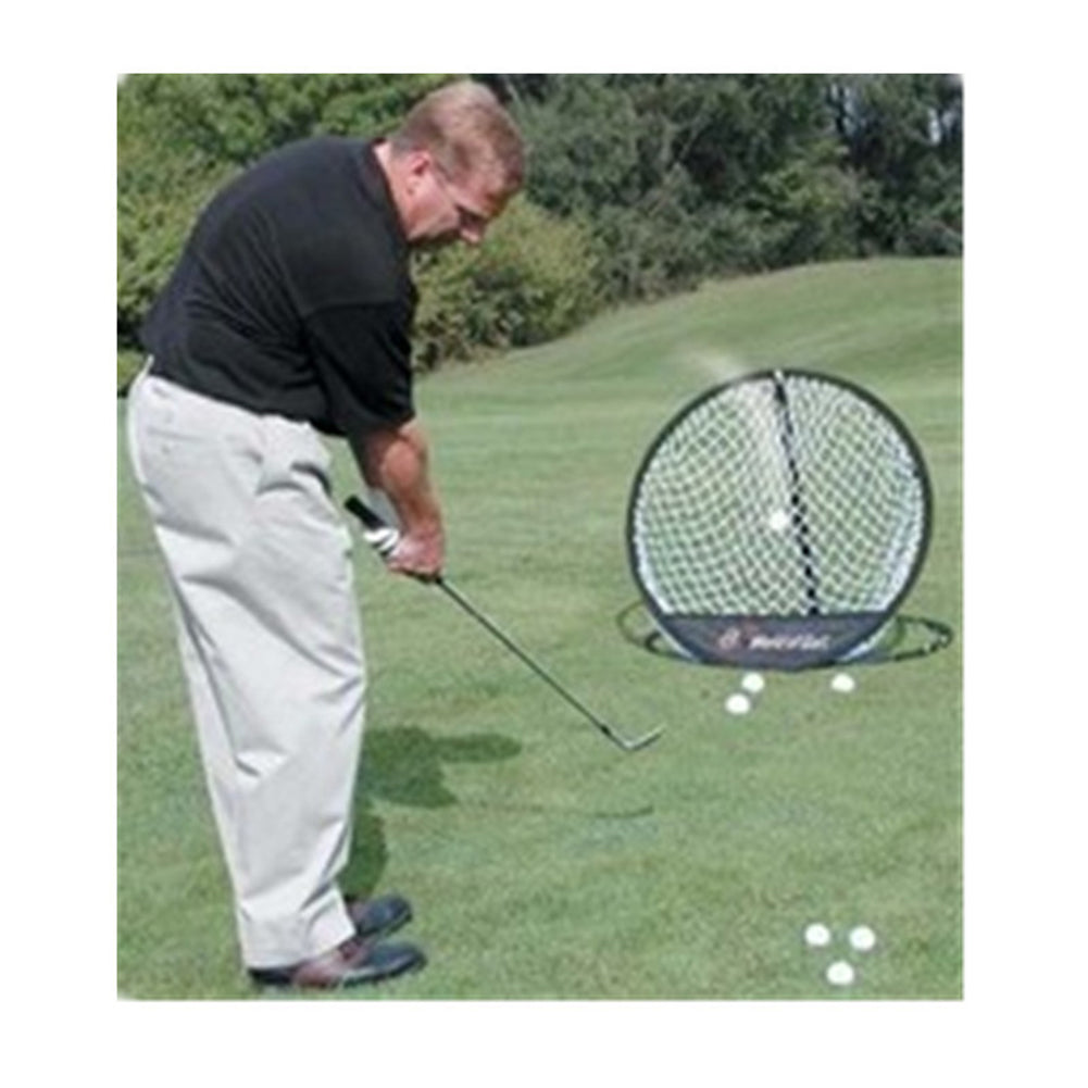 1pcs Black Portable Pop Up Golf Chipping Pitching Practice Net Training Aid Tool Golf Accessories