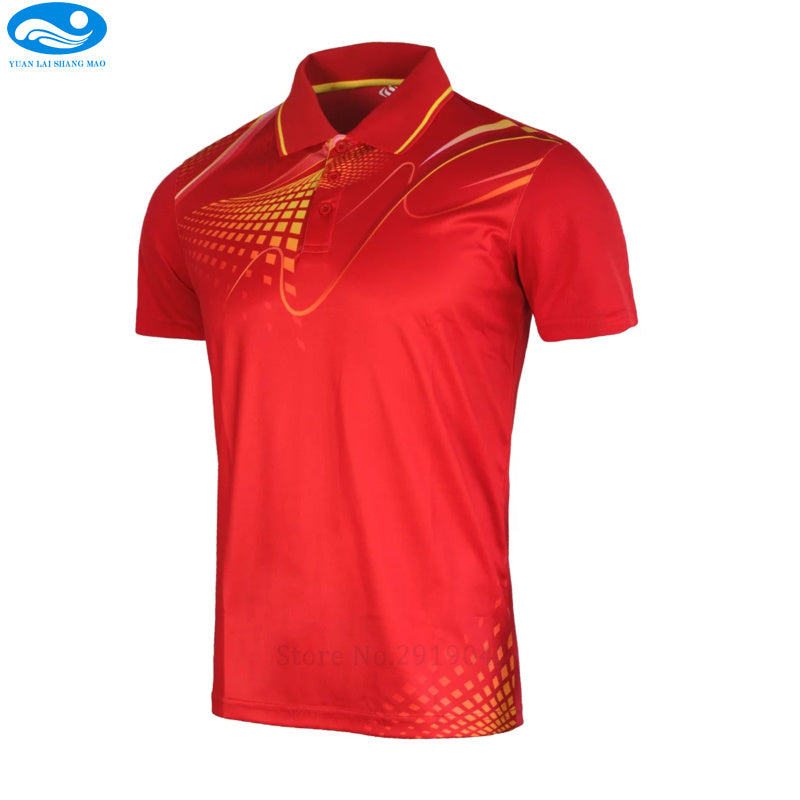 golf shirts sports series wicking breathable clothing  polo T shirt men's/women jerseys badminton sportwear clothes tennis shirt