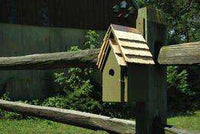 Heartwood Bluebird Manor House Green?? - World of Birdhouses