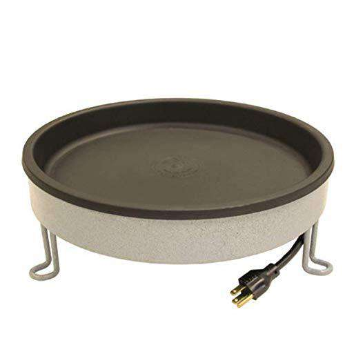 ERVA Heated Ground Bird Bath