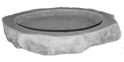 Kay Berry Inc Cast Stone Ground Bird Bath