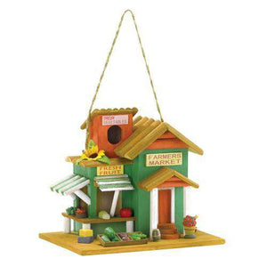 Farmer's Market Birdhouse - World of Birdhouses