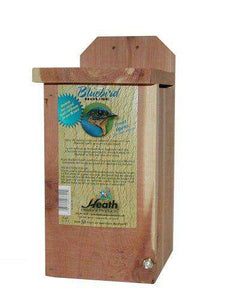 Heath Outdoor Products B-4 Bluebird House - World of Birdhouses