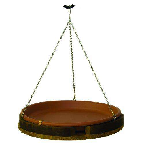 Stovall 2M Hanging Bird Bath, Western Red