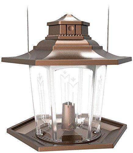 Stokes Select Gazebo Bird Feeder, Brown - World of Birdhouses