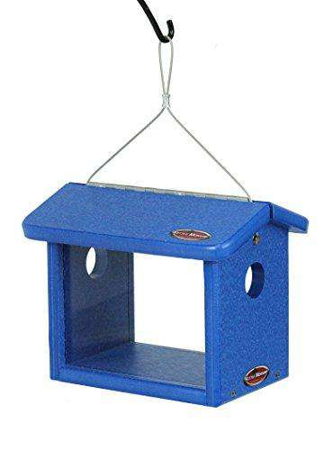 Kettle Moraine Recycled Bluebird Mealworm Feeder  (Blue)??♻️ - World of Birdhouses