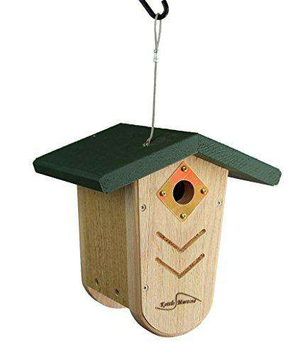 Kettle Moraine Hanging Moraine Bird House/Green