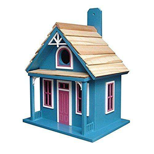 Hand-made Santa Cruz Cottage Bird house - World of Birdhouses