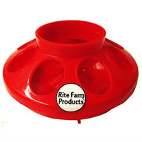 Rite Farm Products Combo RED Quart Feeder & Waterer Baby Chicks