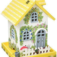Flower Cottage Bird Feeder - World of Birdhouses