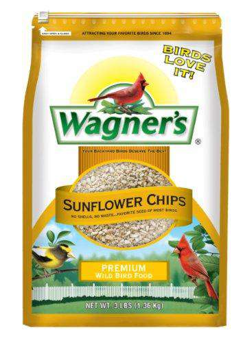 Wagner's 57051 Sunflower Chips, 3-Pound Bag - World of Birdhouses