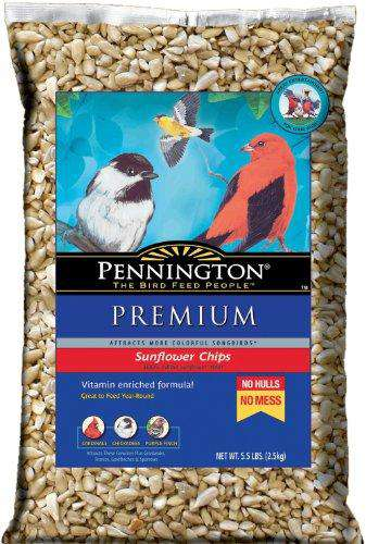 Pennington Premium Sunflower Chips for Feeding 5.5 lbs?? - World of Birdhouses