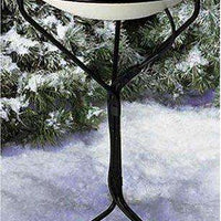 Allied Precision Industries 20-Inch Diameter Heated Bird Bath with Metal Stand