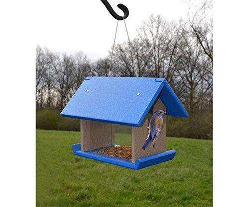 Songbird Essentials Mealworm Feeder Blue/Grey♻️