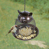 Hanging Metal Cardinal Bird Feeder?? - World of Birdhouses