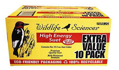 Wildlife Sciences High Energy Suet 10 Pack - World of Birdhouses