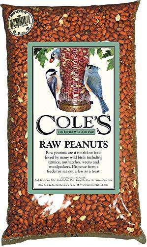 Cole's RP20 20 Pound Raw Peanut Bird Food - World of Birdhouses