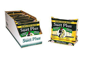 Wildlife Sciences Sunflower Blend Suet 12 Pack - World of Birdhouses