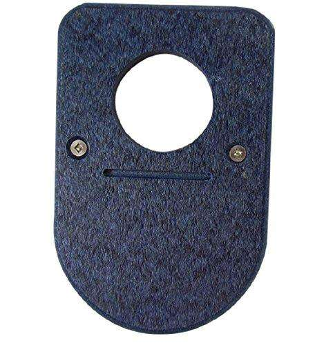 JCs Wildlife Recycled Poly Lumber Blue Birdhouse Predator Guard♻️