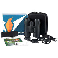 Wingspan Optics WideViews HD 8X42 Professional Binoculars for Bird Watching. Extra-Wide Field of View
