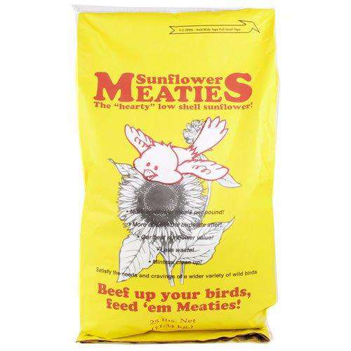 Paris Sunflower Meaties Sunflower Seed, 25 Lbs - World of Birdhouses