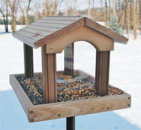 Woodlink Premier Cedar Bird Feeder - World of Birdhouses