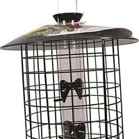 Droll Yankees Squirrel Proof Bird Feeder, Sunflower Domed Caged Bird Feeder - World of Birdhouses