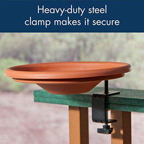 Audubon Deck Mount Bird Bath