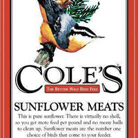Cole's Wild Bird Products SM10 10 Pound Sunflower Meats Seed - World of Birdhouses