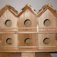 Purple Martin Deluxe Birdhouse with 6 Seperate Compartments
