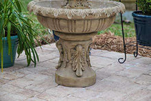 Kenroy Home Ibiza Outdoor Tiered Fountain with Lights💡🚚