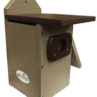 JCs Wildlife Brown Standard Bluebird House♻️