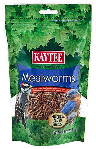Kaytee Mealworms, 3.5 oz (0.218 lbs) - World of Birdhouses