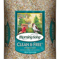 Morning Song 11959 Clean and Free Wild Bird Food, 10-Pound - World of Birdhouses